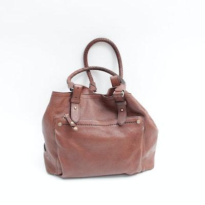 fcc1567238bf Cole Haan Brown Leather Hobo Handbag