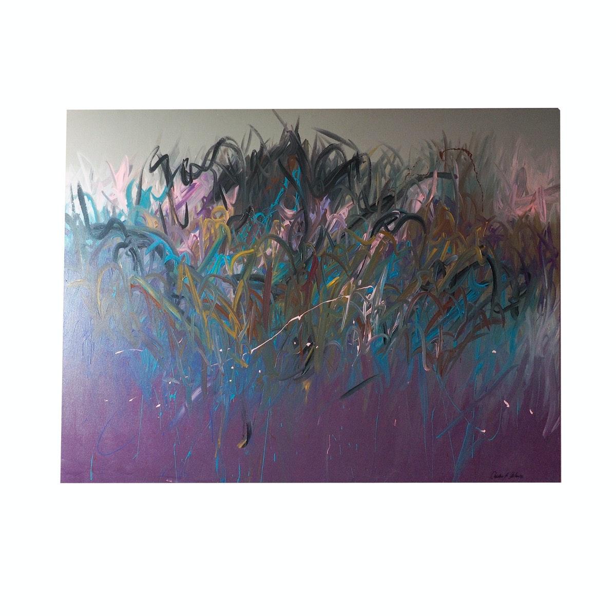 """Christine Alfery Original Oil Painting """"Windbound"""""""