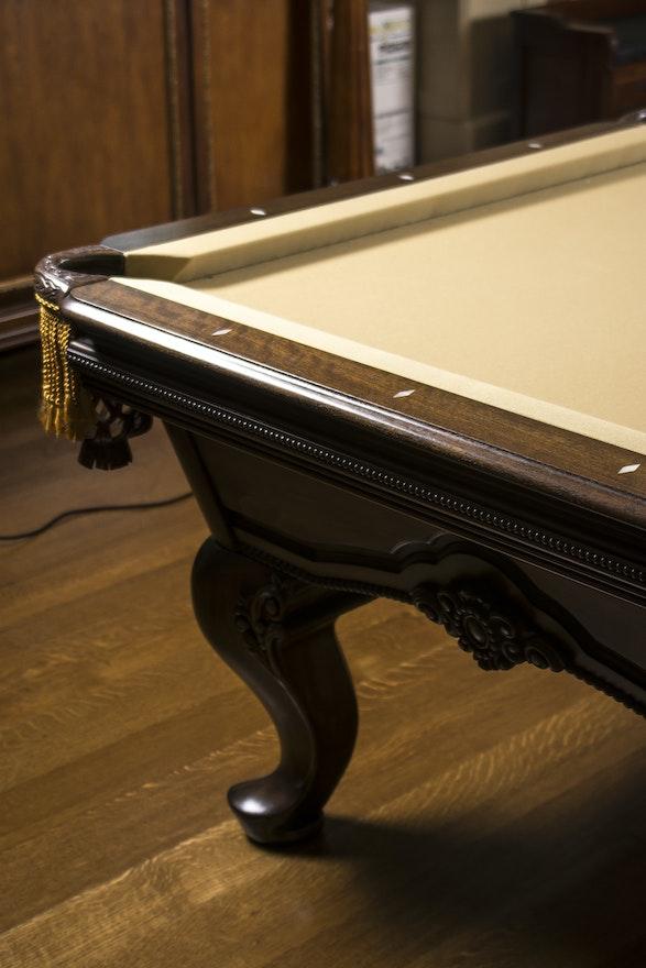 Renaissance Custom Original Billiards Table Ebth