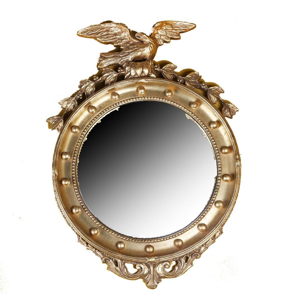Federal Style Bulls Eye Mirror
