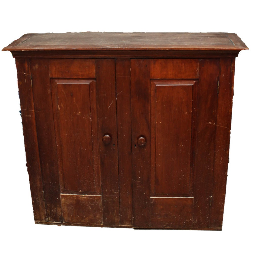 solid wood storage cabinets antique solid wood storage cabinet ebth 26478