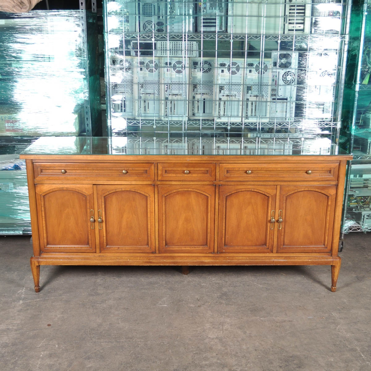 Wonderful Vintage Buffet By White Furniture Company ...