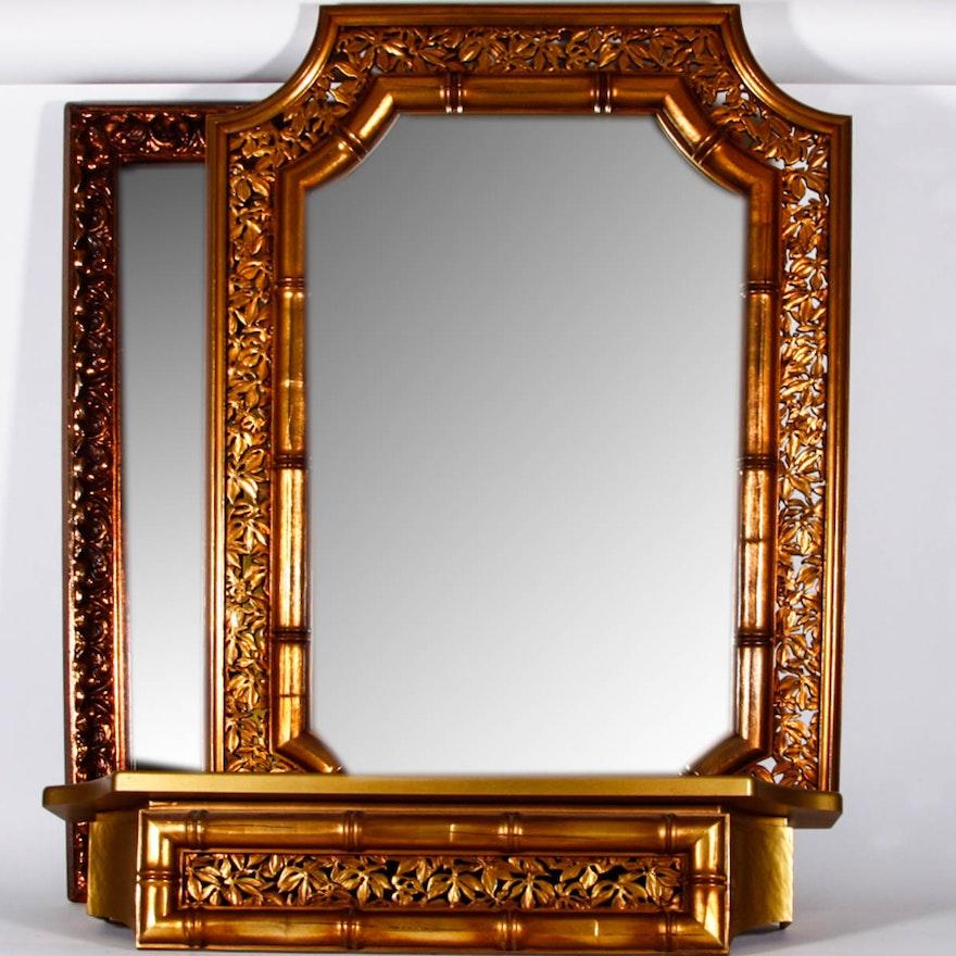 566a408478a Ornate Mirror Pair   EBTH