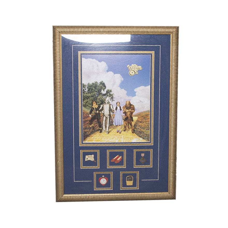 Wizard Of Oz Movie Poster In A Frame Ebth