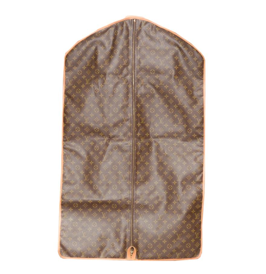 4fcfffe8fc85 Vuitton Malletier Garment Bag