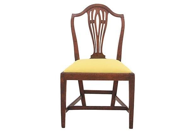 Shield Back Hepplewhite Chair ...