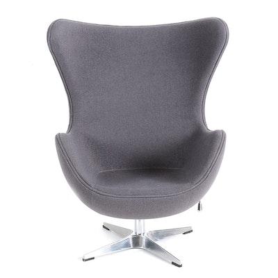 vela retro wing back armchair - Retro Chairs