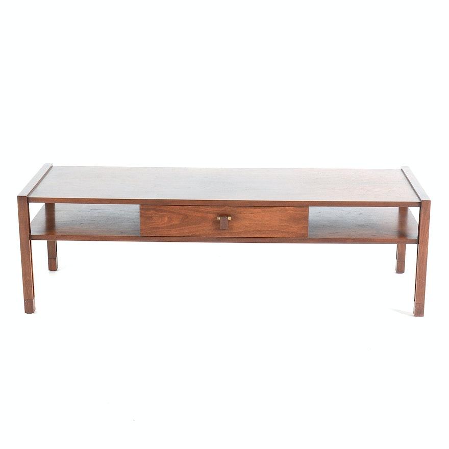 cbffc7f05874 Dunbar Walnut Coffee Table Designed by Edward Wormley   EBTH