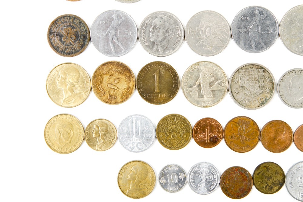 Collection of international coinage ebth for International collection