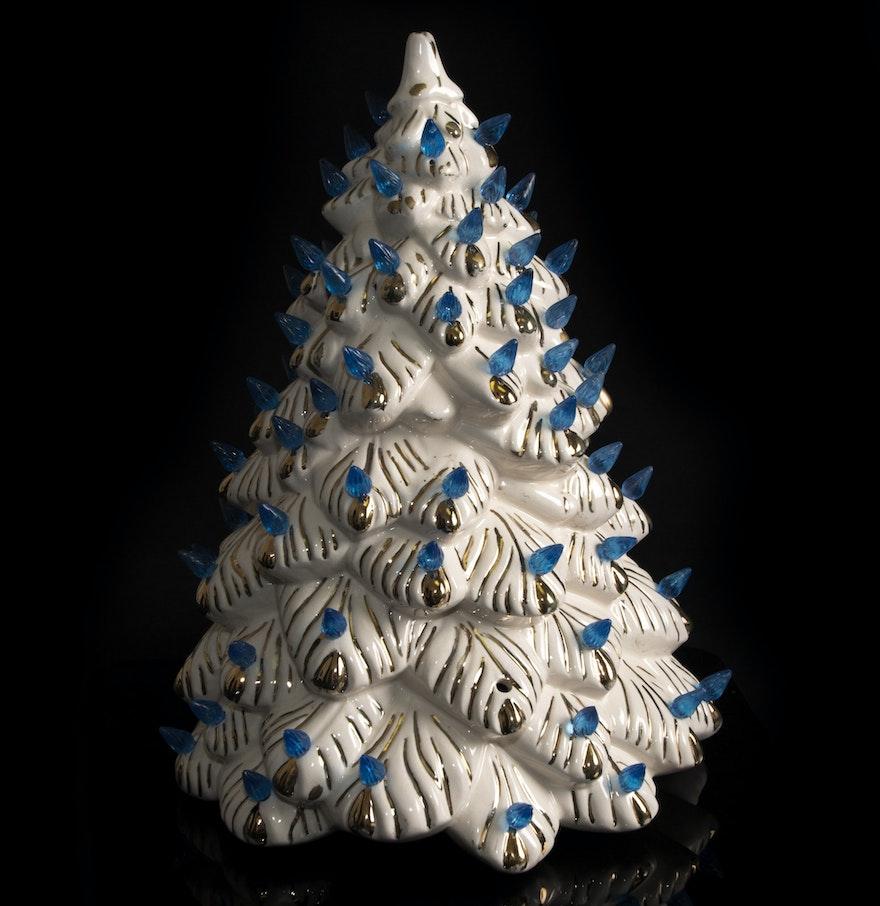 Vintage Ceramic Tree 4