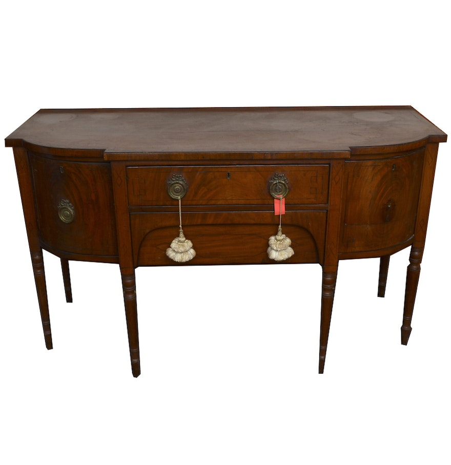 Antique federal style mahogany sideboard ebth for Sideboard vintage look