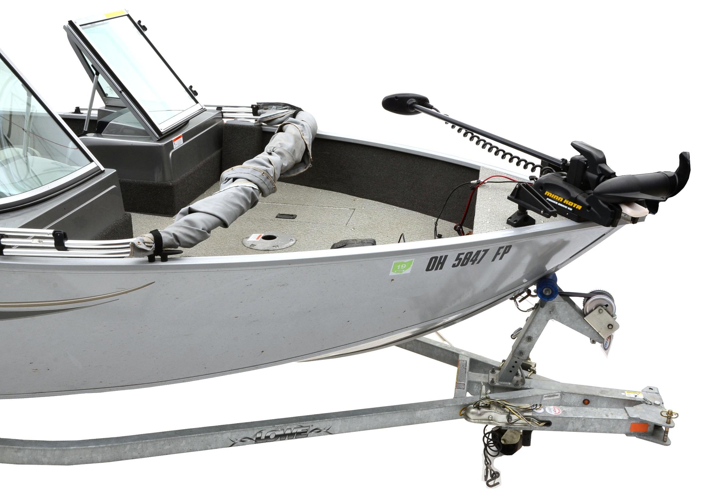 lowe fishing machine 165