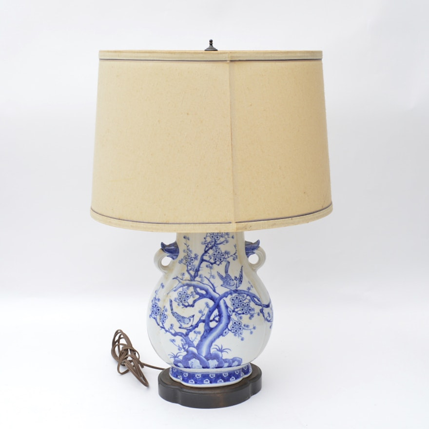 Blue Willow Table Lamp