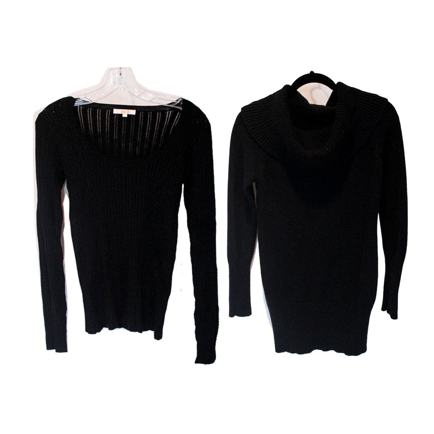 Guess and Zoe D. Black Sweaters   EBTH 6b72b2035