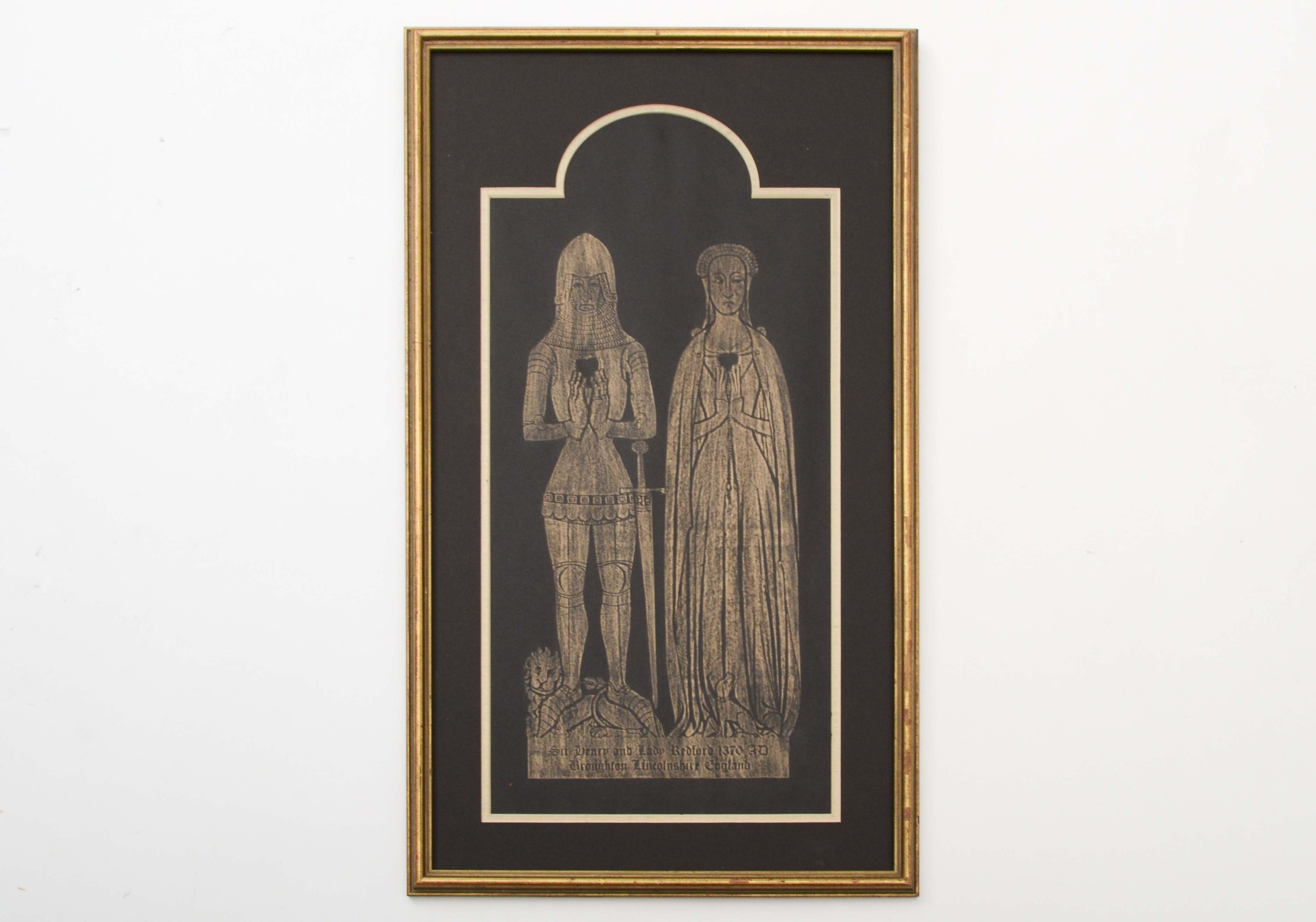 Brass Rubbing From National Cathedral Ebth