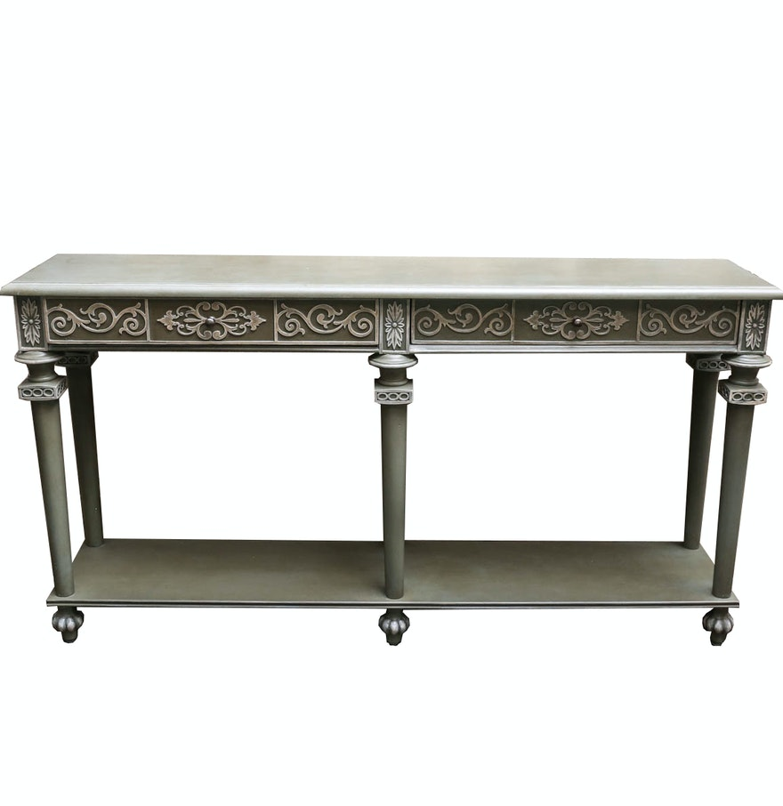 Early 21st century console table by hooker furniture ebth for 10 spring street console table