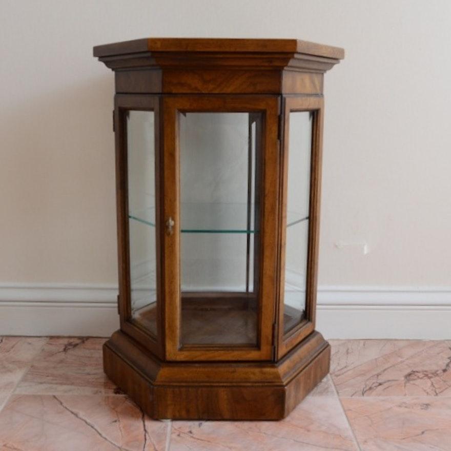 Small Octagon Curio Cabinet