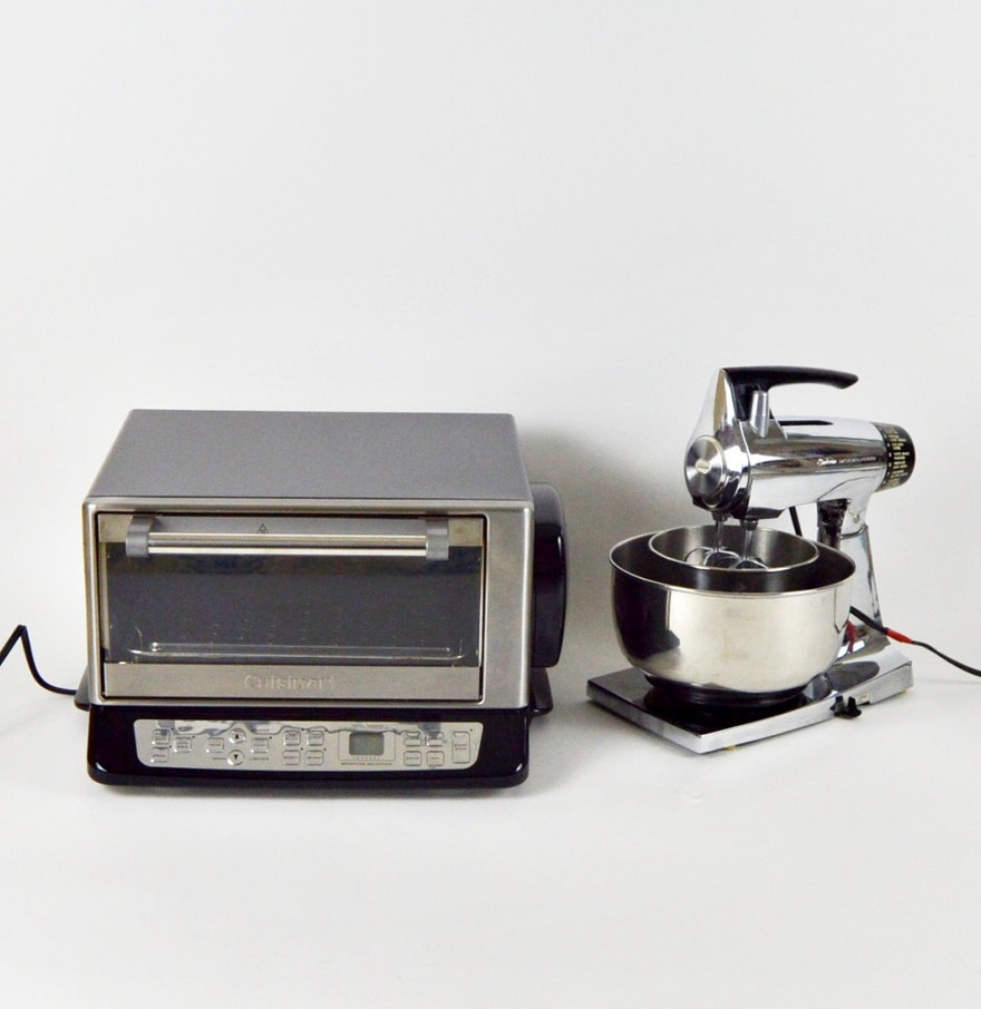 Toaster oven and mixer kitchen appliances ebth for 0 kitchen appliances