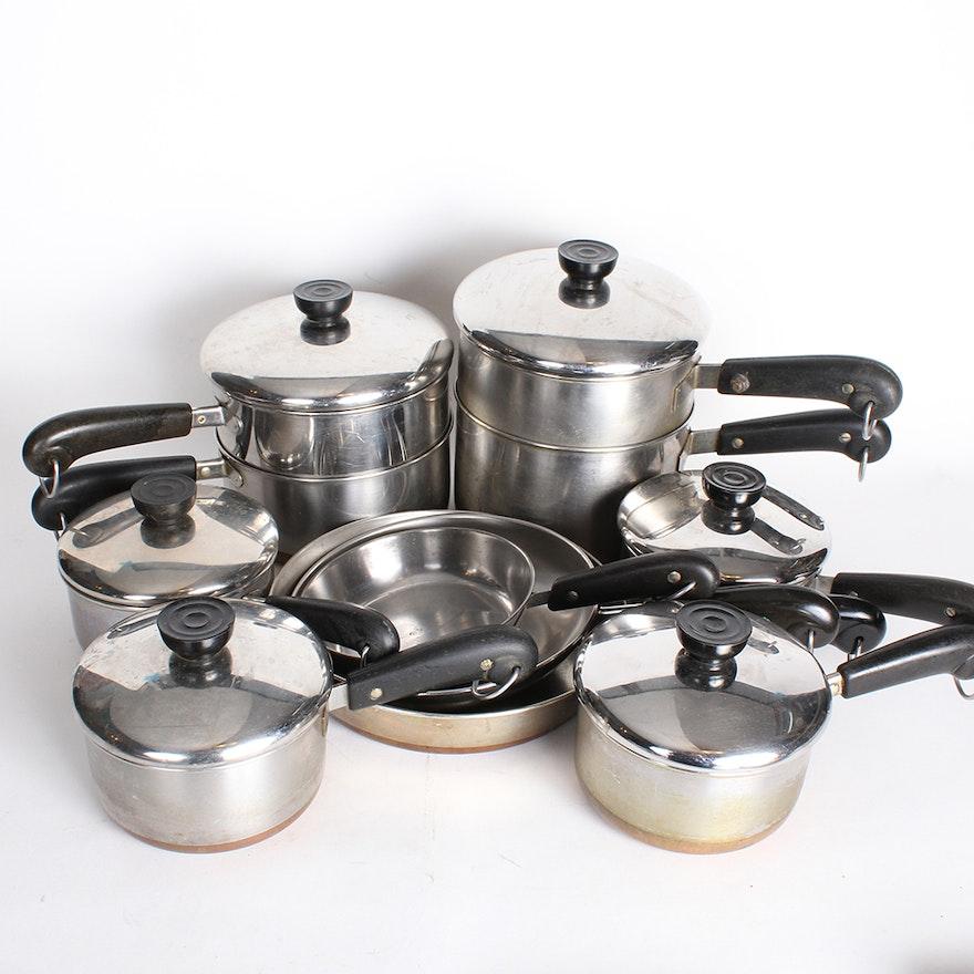 Paul Revere Copper Bottom Pots And Pans Ebth