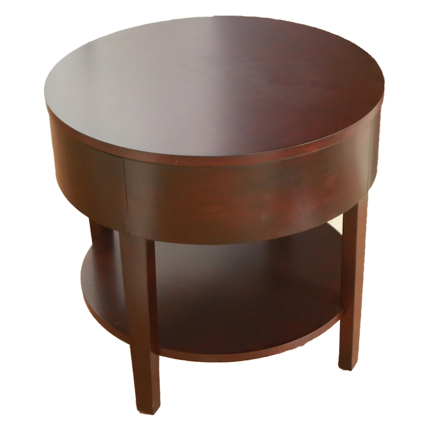 Circular Side Table By Coaster Fine Furniture Company Of
