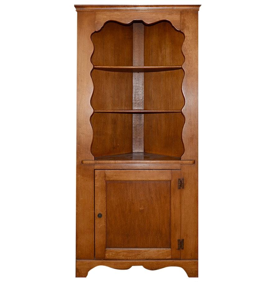 Vintage Corner Cabinet Vintage Corner Cupboard Ebth