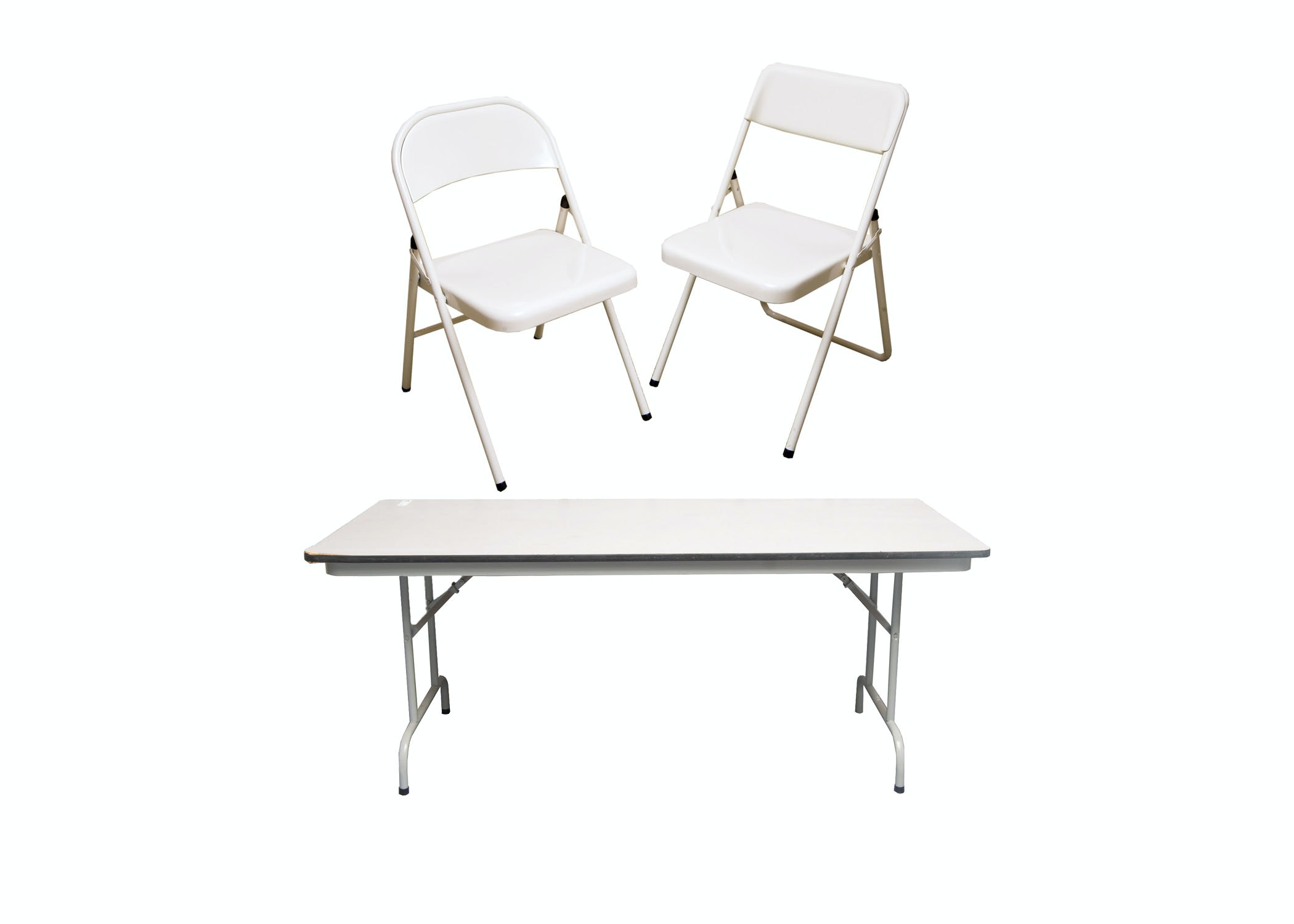Folding Table and Chairs by Cosco and Meco EBTH