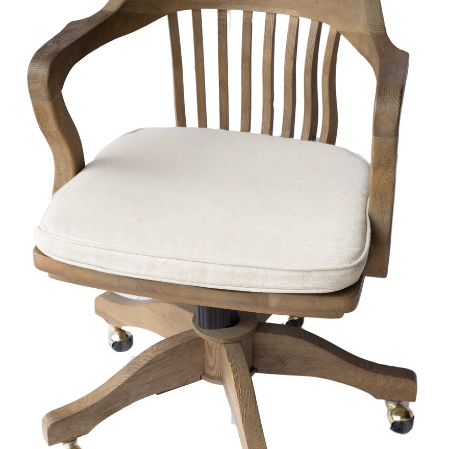 contemporary banker s chair by restoration hardware ebth