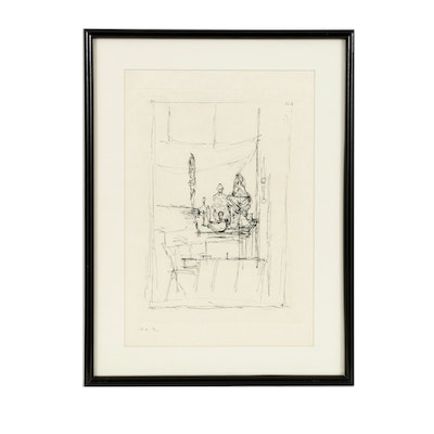 Fine Limited Edition Etching by Alberto Giacometti