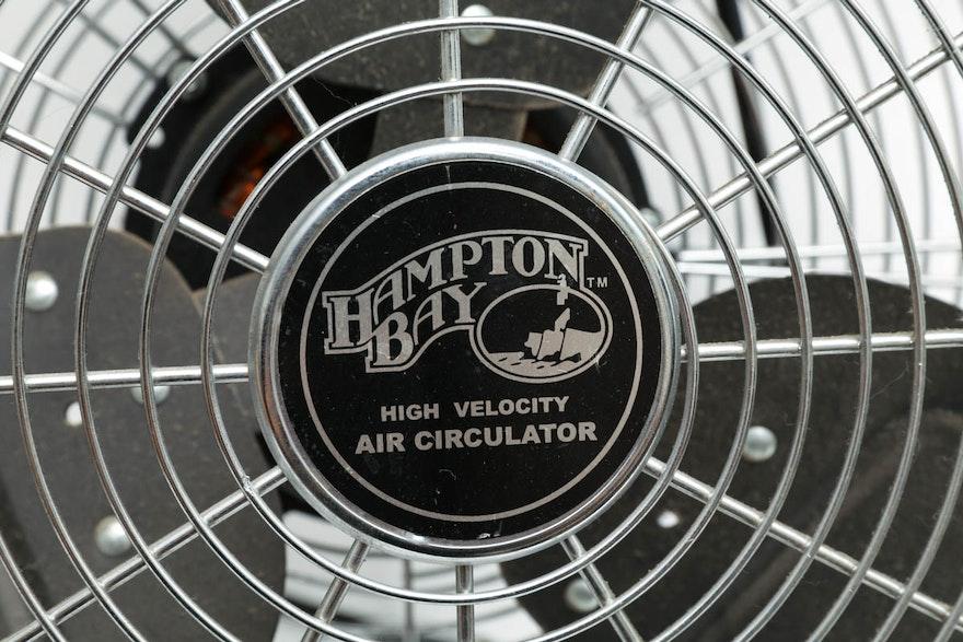 Hampton Bay High Velocity Air Circulator Fan Ebth