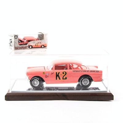 Pair of Dale Earnhardt Sr. K-2 1956 Ford Victoria Die-Cast Cars