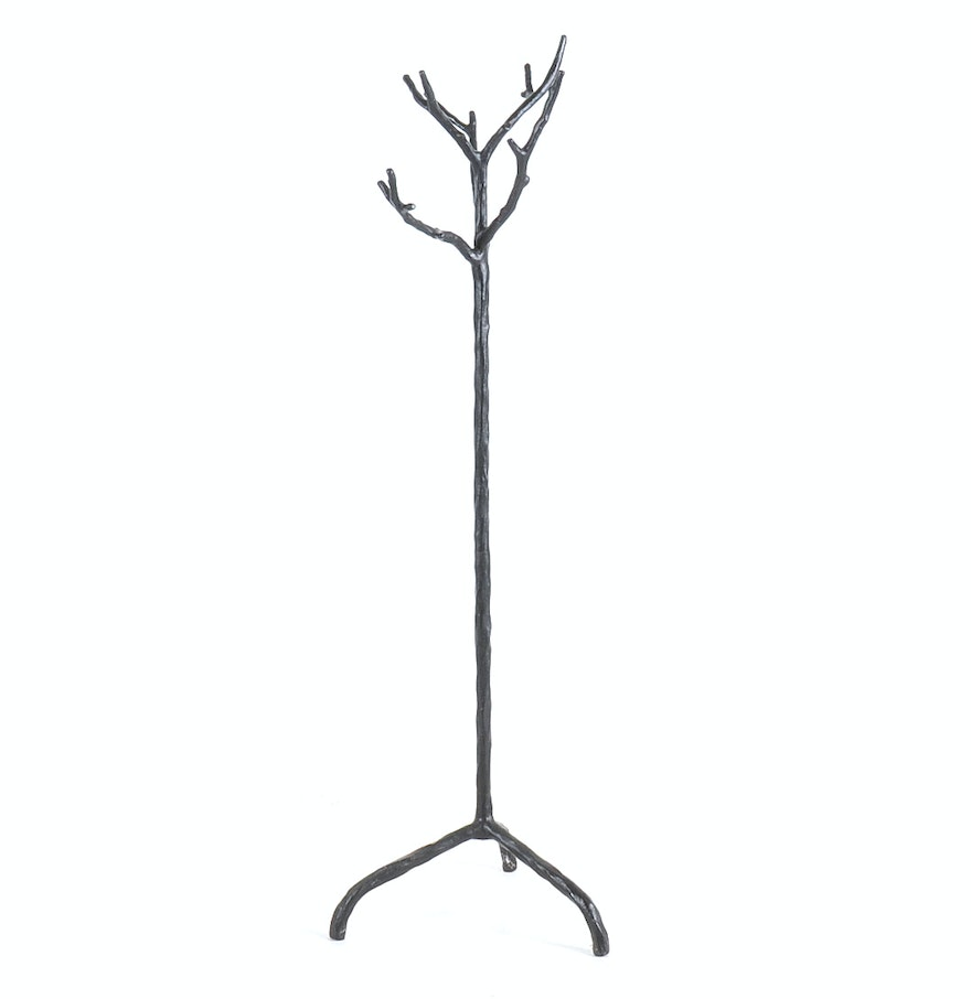 Pottery Barn Faux Bois Twig Coat Rack