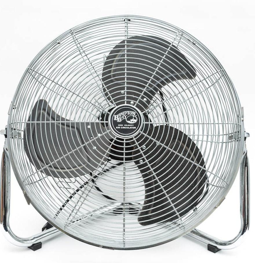 High Velocity Air Circulator : Hampton bay high velocity air circulator fan ebth