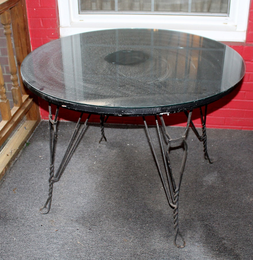 Patio Table Black 28 Images Shop Garden Treasures