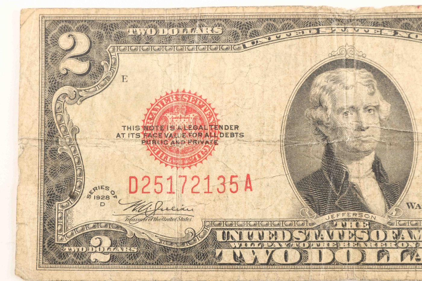 1 Silver Certificates And A 2 Legal Tender Note Ebth