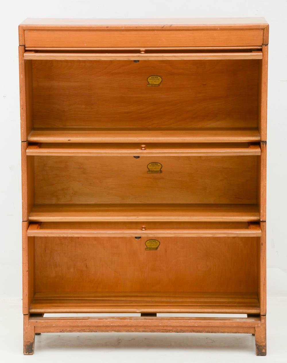 Vintage Barrister Bookcase Ebth