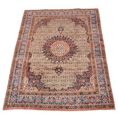 Persian Moud Hand Woven Wool Area Rug