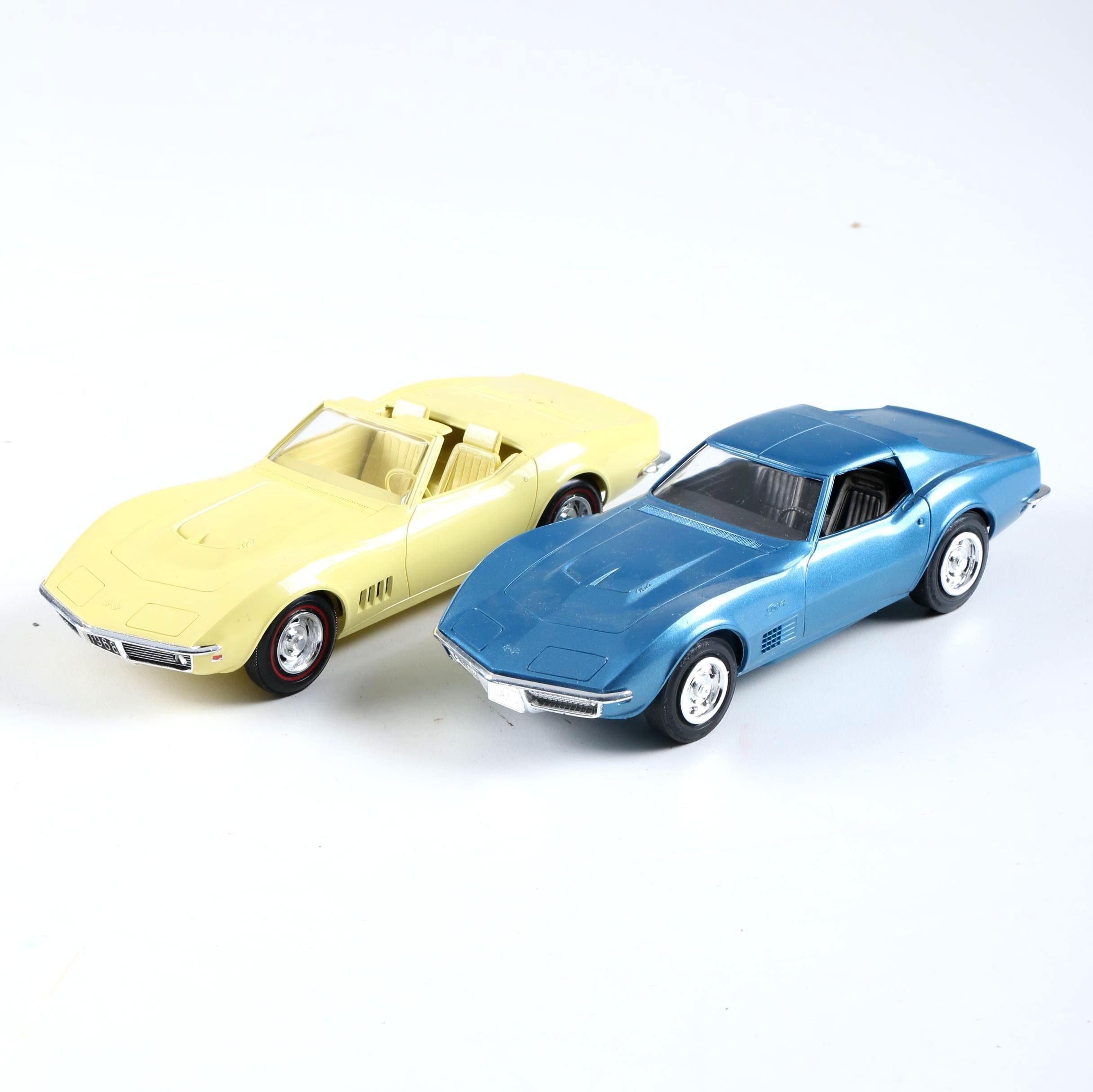 Pair of Chevrolet Corvette Promo Cars