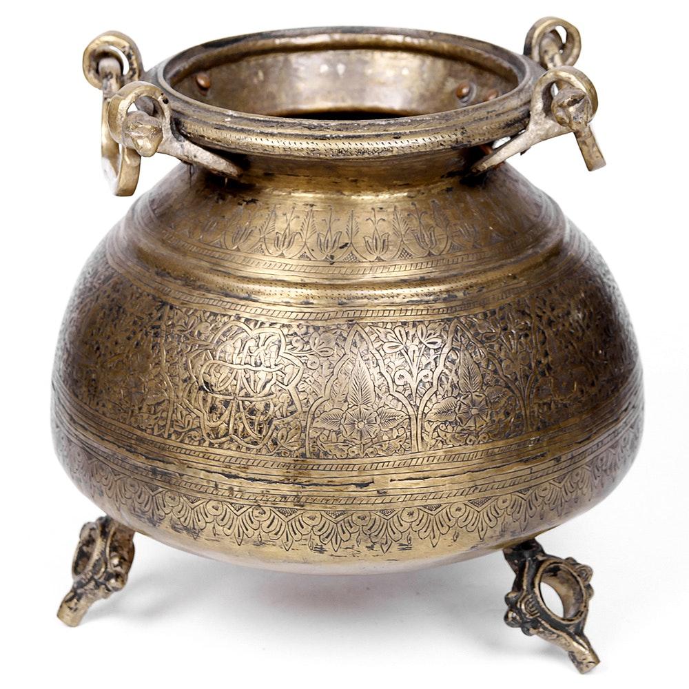 Moroccan Brass Urn