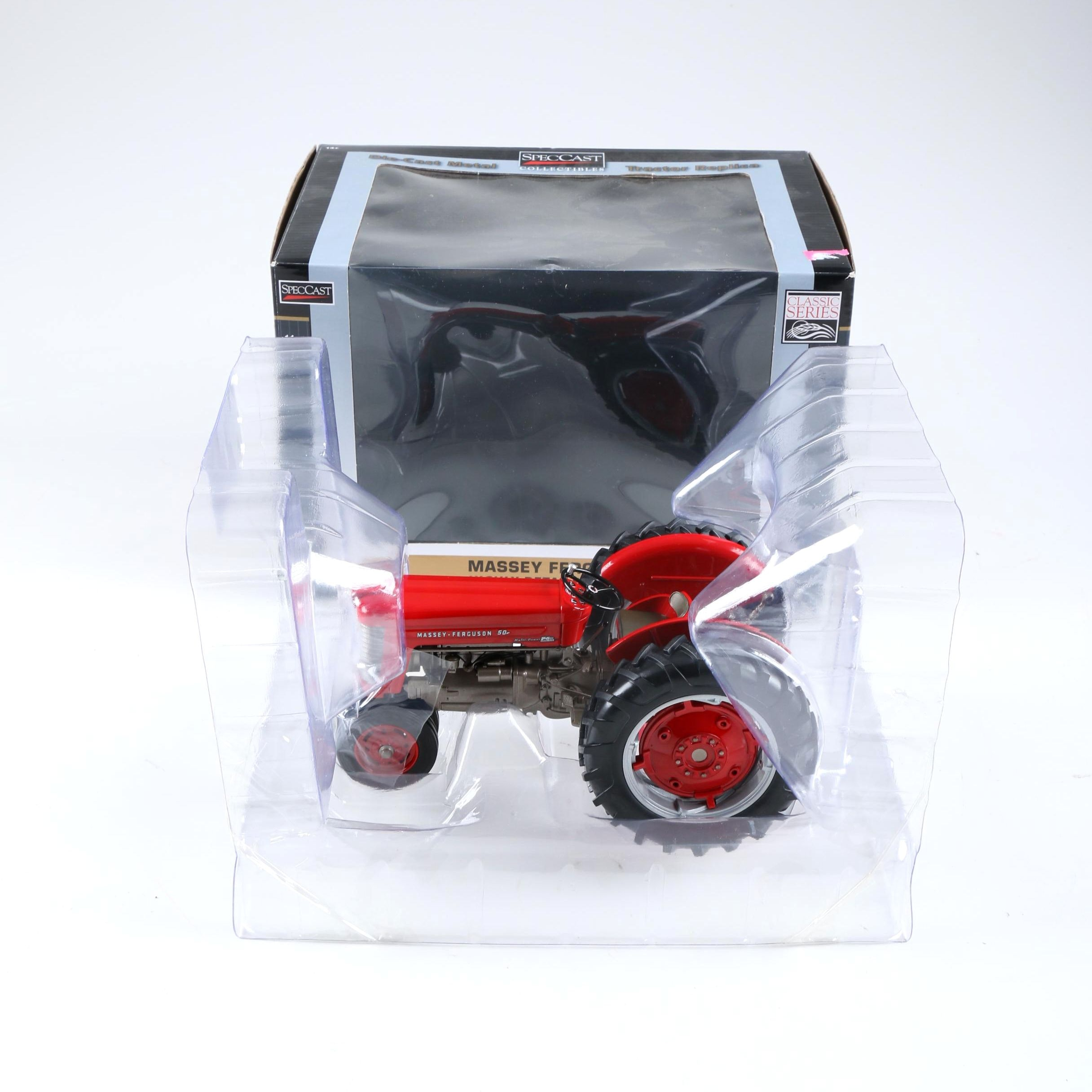 Mint Condition Massey Ferguson 50 1:16 Scale Die-Cast Tractor