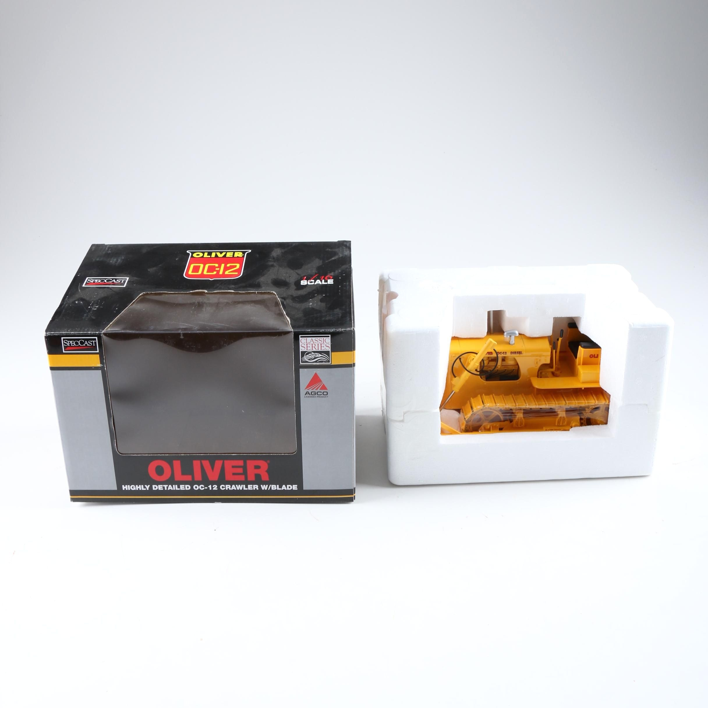 Oliver OC-12 Die-Cast Bulldozer