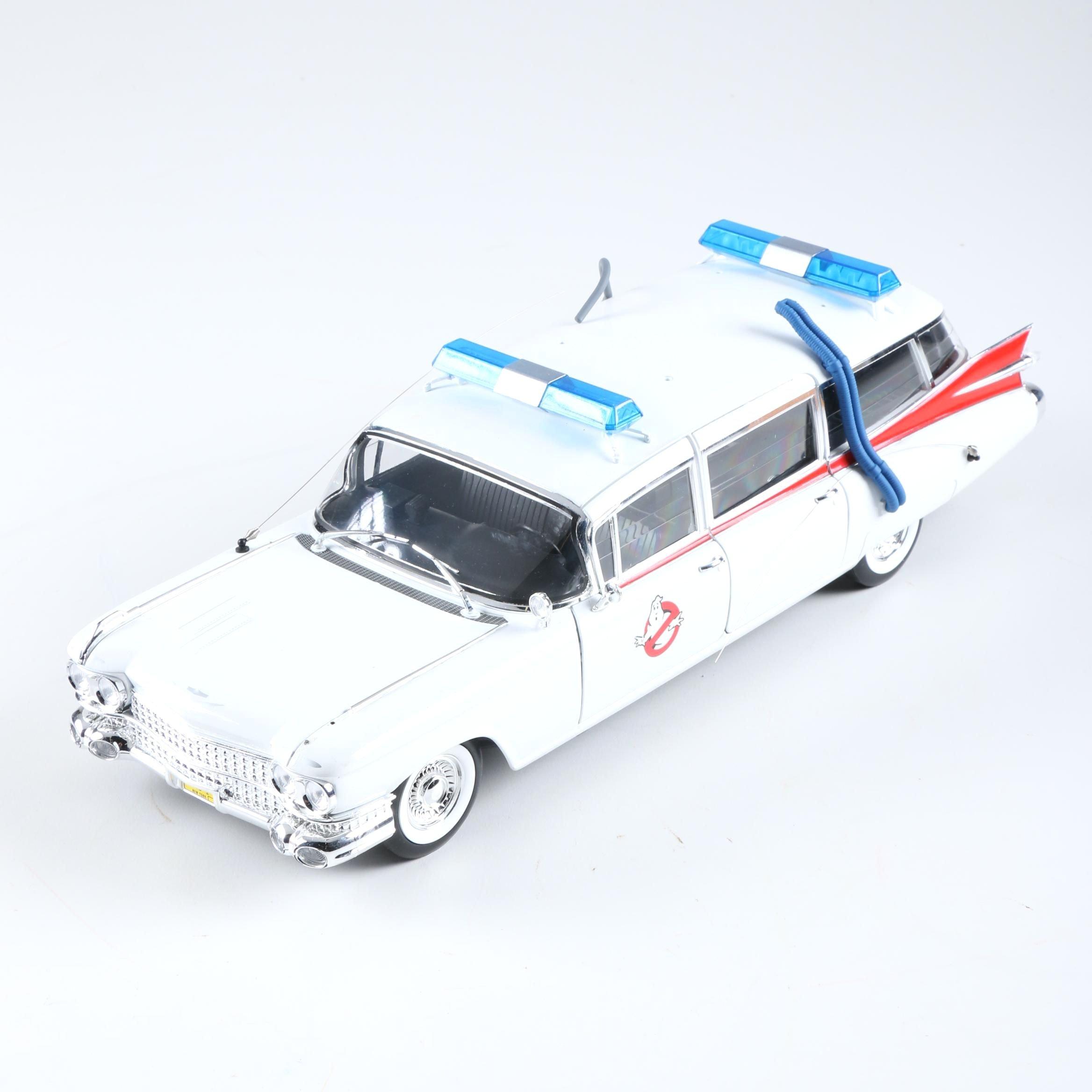 """Hotwheels """"Ghostbusters"""" Ecto 1 Die-Cast Car"""