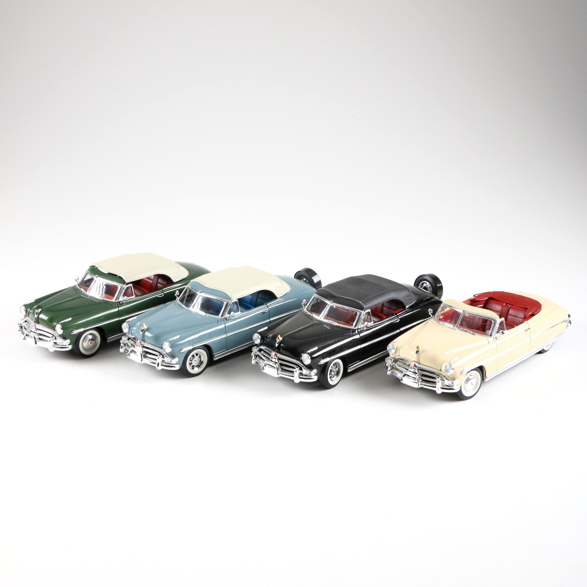 Collection of 1952 Hudson 1:16 Scale Die-Cast Cars