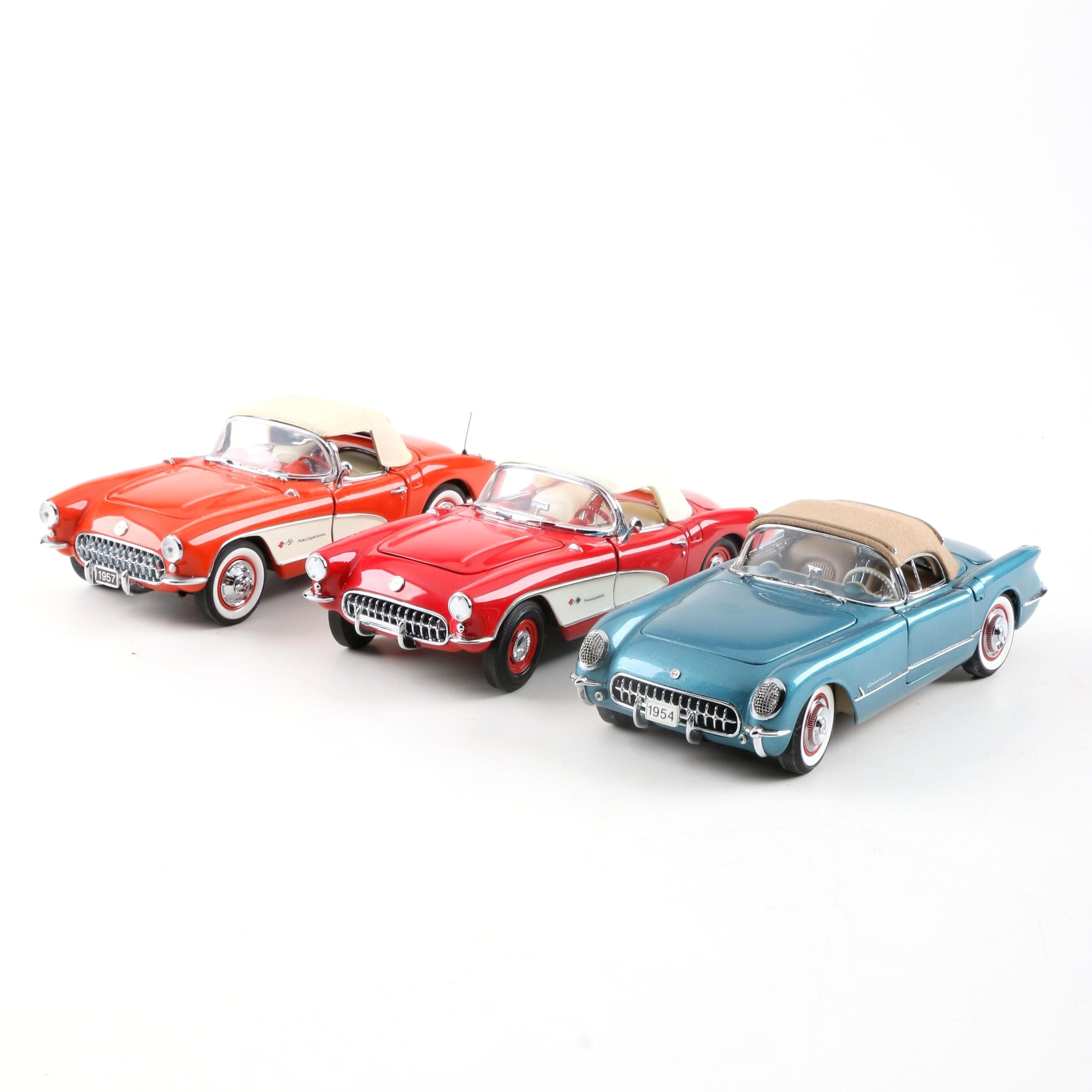1950s Corvette Die-Cast Cars