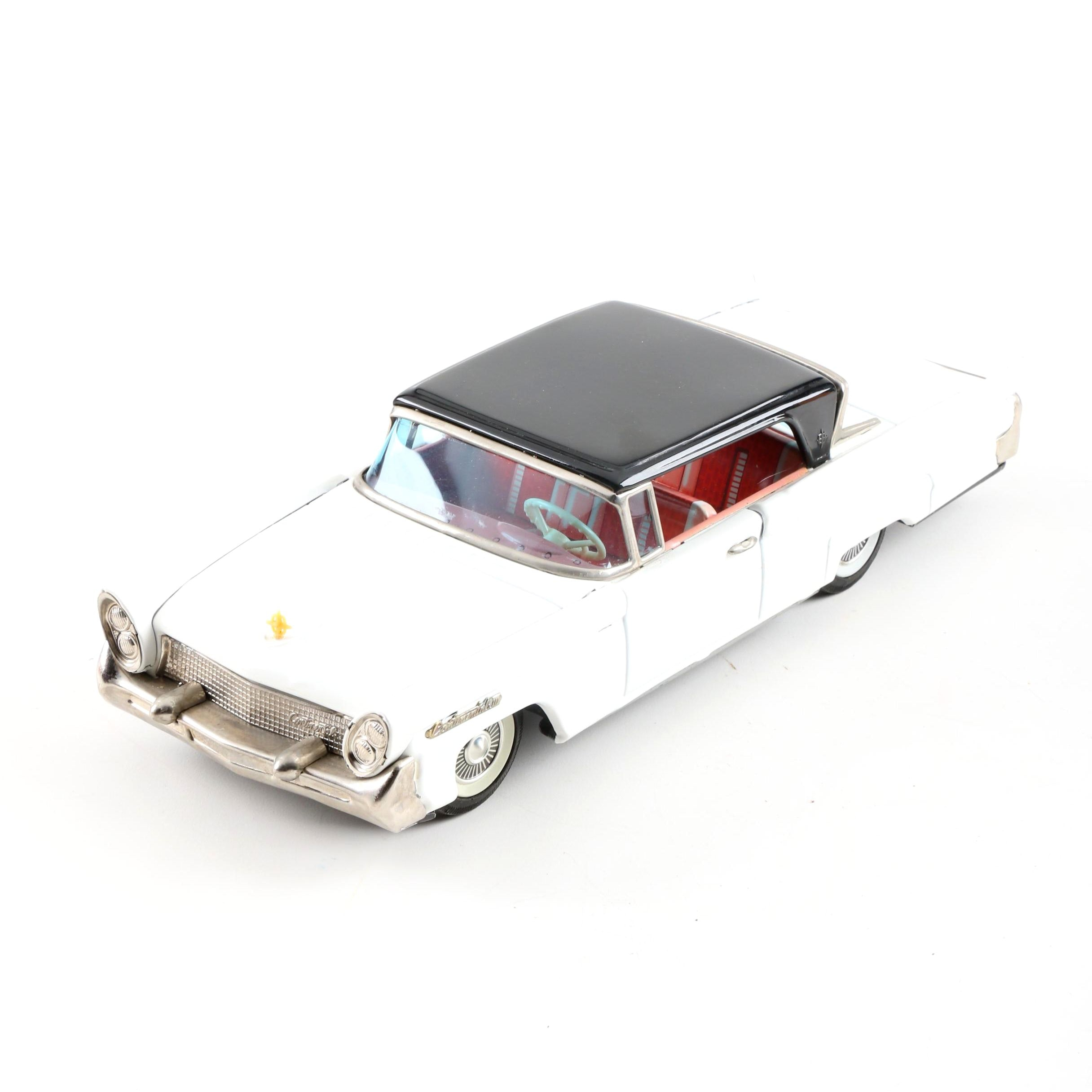 Vintage Lincoln Continental Tin Friction Car
