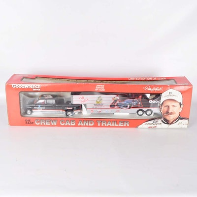 Goodwrench Limited Edition #3 Die-Cast Crew Cab and Trailer Set