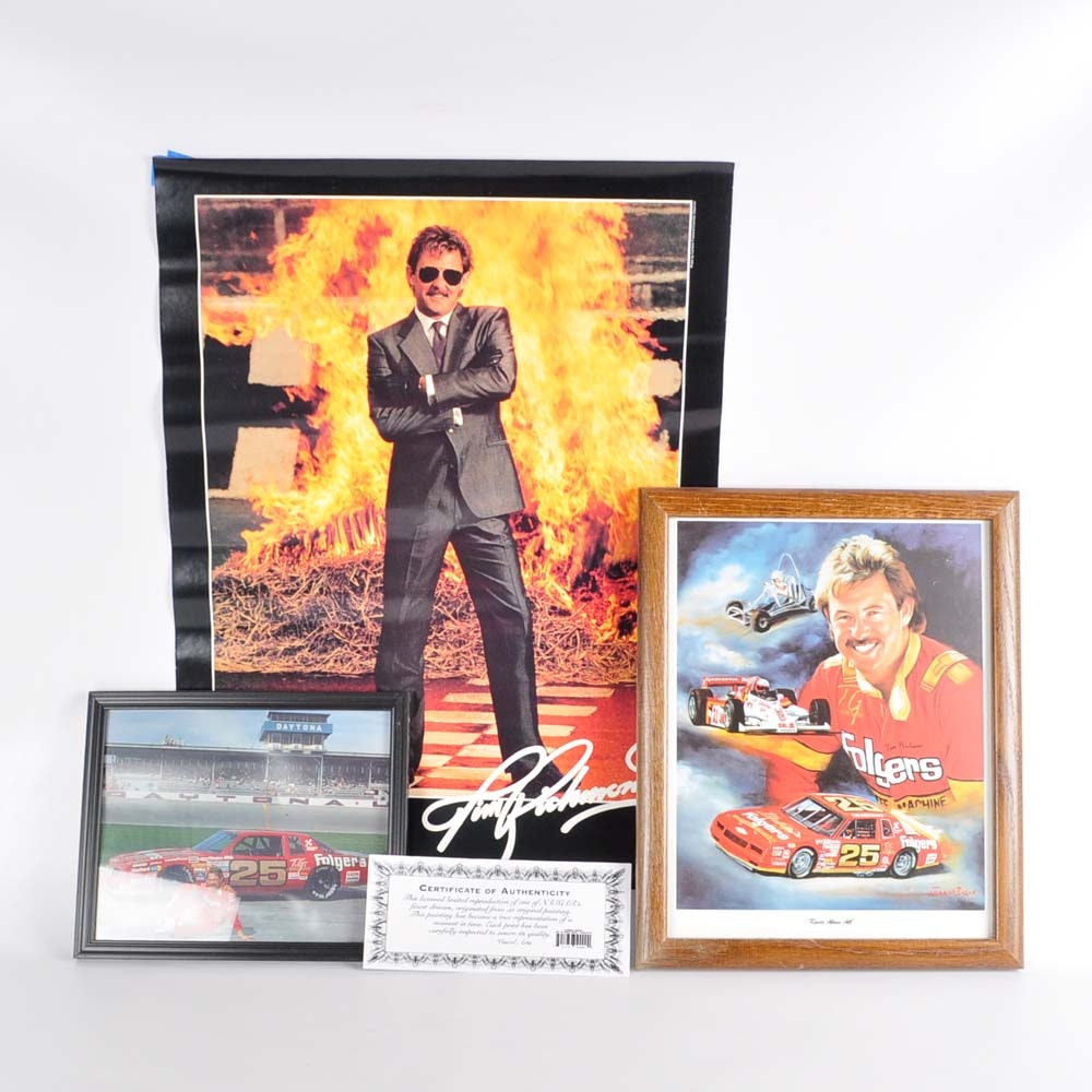 Tim Richmond Offset Lithograph Photograph And Poster Ebth