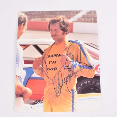 "Dale Earnhardt ""Damn I'm Good"" Stock Photo"