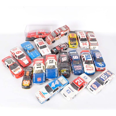 Collection of Model Race Cars