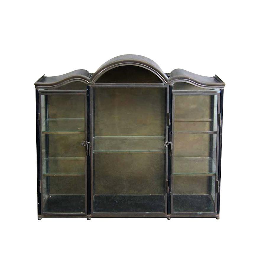 vintage tole vitrine ebth. Black Bedroom Furniture Sets. Home Design Ideas