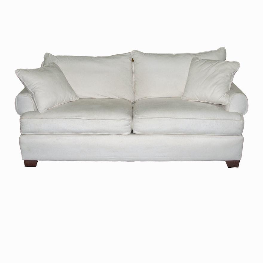White Hickory Hill Sofa